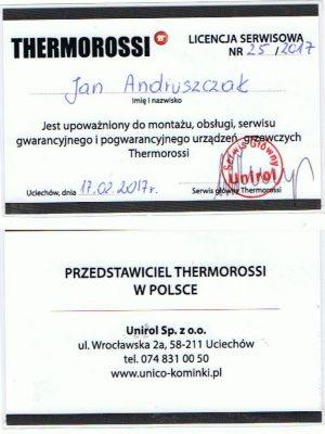 Certyfikat Thermorossi